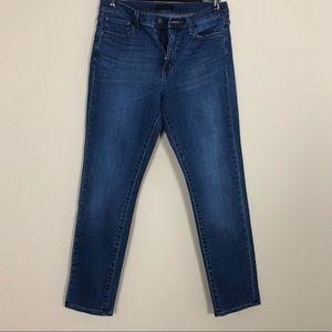 Uniqlo High Rise Straight Jeans
